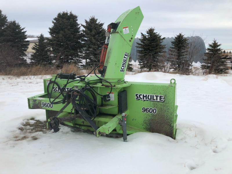 Schulte 9600 Snoblower Equipment Image